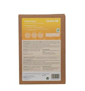 detergente bagno con microrganismi em e acido citrico