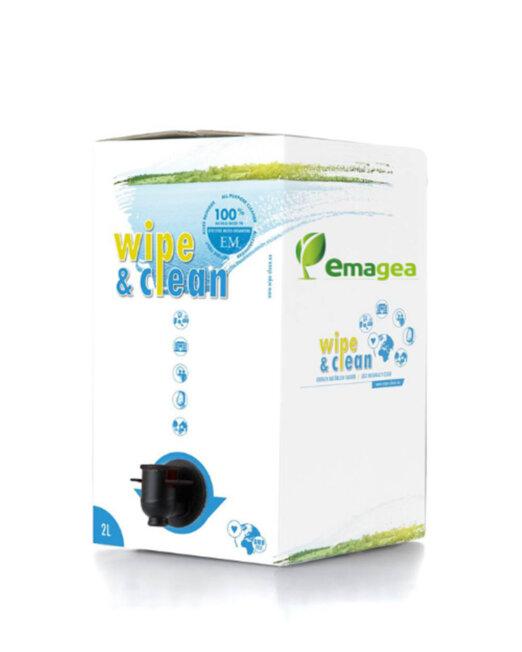 wipe&clean detergente ai microrganismi effettivi em senza profumazione