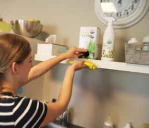 Wipe and Clean detergente alla menta con microrganismi effettivi alla menta