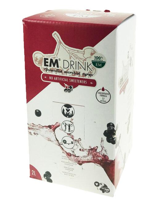 Bevanda fermentata EM Drink con microrganismi rigenerativi