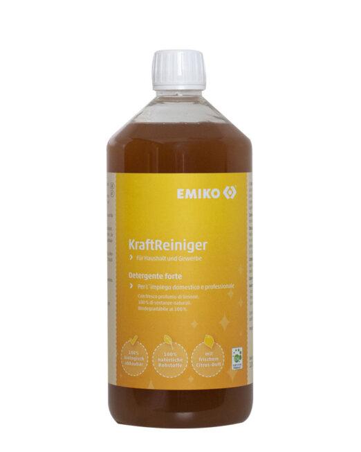 Detergente multiuso forte con micorganismi Em Ricarica da 1lt