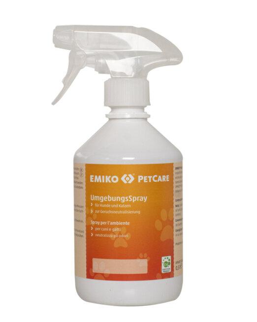 Spray per gli ambienti di piccoli animali a base di microrganismi