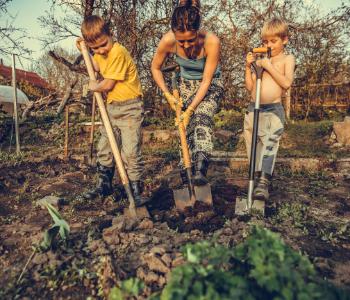 I bambini possono imparare tutto sul suolo e sui microrganismi