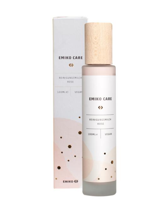 Emiko Care Latte detergente viso alla rosa Damascena