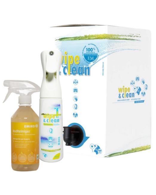 set detergenti ai microrganismi effettivi con flairosol